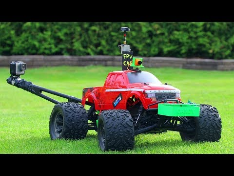 Delivering Candy to Kids with RC FPV Car