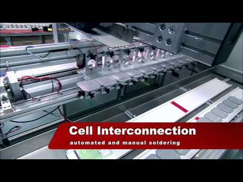 Solar Panel Production Process Video