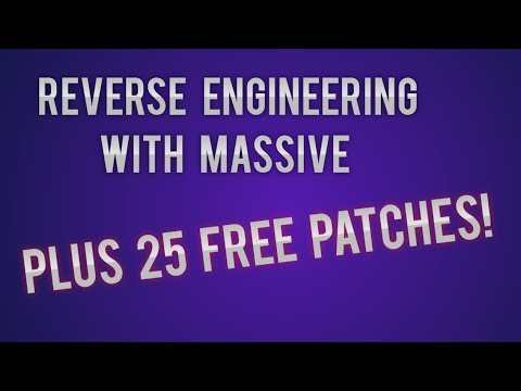 Massive- How to Improve Your Skills Using Reverse Engineering with 25 FREE PATCHES