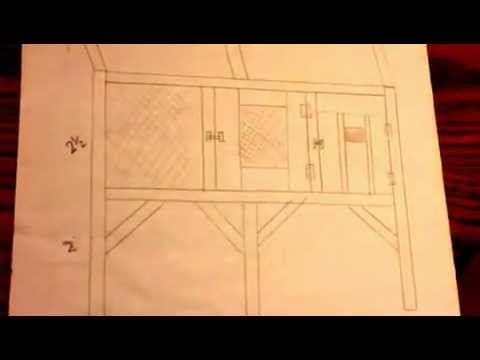 Canadian rabbit hutch - Plans