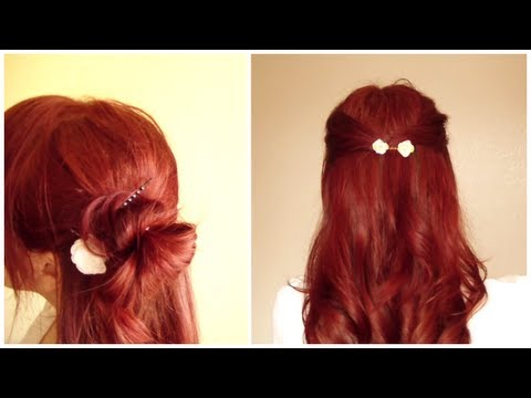 How to DIY Flower Accessories for Your Hair! DIY Summer Hair Accessories