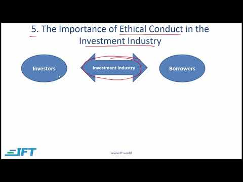 Level I CFA: Ethics R01 Ethics and Trust in the Investment Profession-Lecture 2