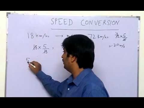Speed Conversion