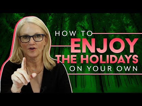 Celebrating the holidays when you're alone | MEL ROBBINS