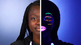 We Tried Glow-In-The-Dark Makeup