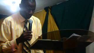 Halleluyah Chapel Nov  2012 Cross Over Sermon 3