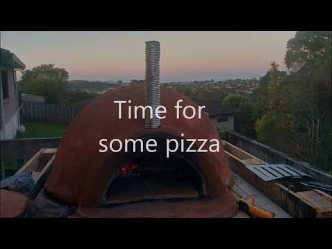 DIY Woodfired Pizza Oven Build