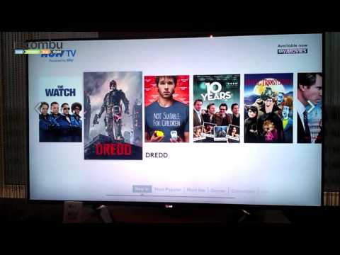 Sky Now TV on LG Smart TV hands-on