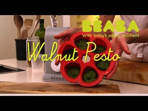 Beaba Babycook Recipe - Walnut Pesto - Direct2Mum