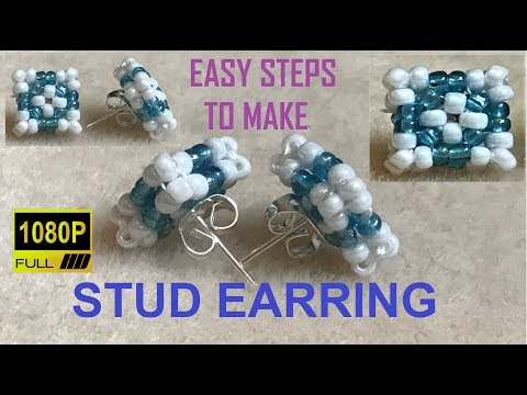 Beaded Stud | DIY