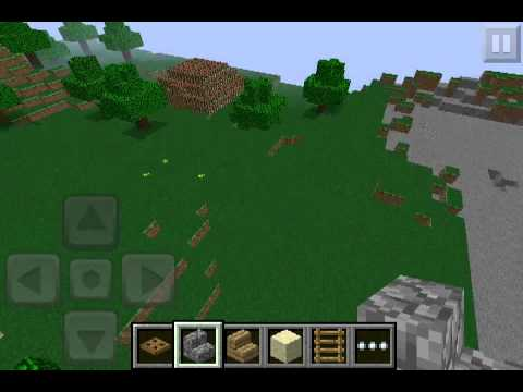 Minecraft pe how to make benches