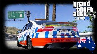 GTA 5 - LSPDFR Australia - QPS General Duties VF Commodore