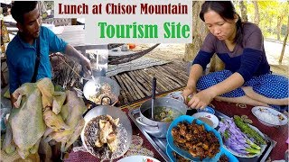Lunch at Chisor Mountain Tourism Site at Takeo Province