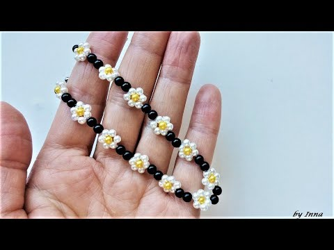 How to make a beaded bracelet, beginners tutorial