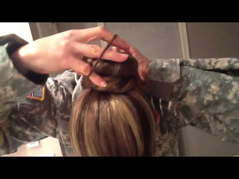 How To: Military Bun
