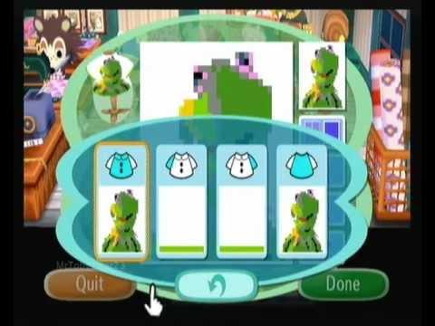 Animal Crossing: City Folk - My Kermit Design
