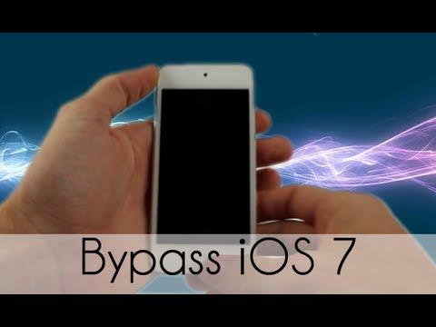 Bypass iOS 7 Lockscreen