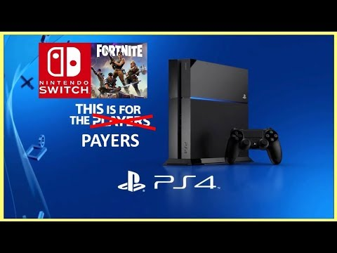 PS4 - For the Payers, Not the Players!  Sony Blocks Cross Platform Support AGAIN!