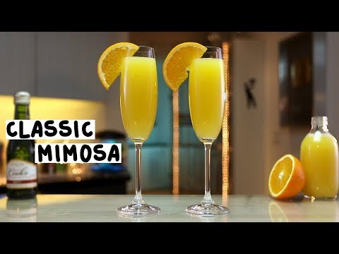 Classic Mimosa - Tipsy Bartender