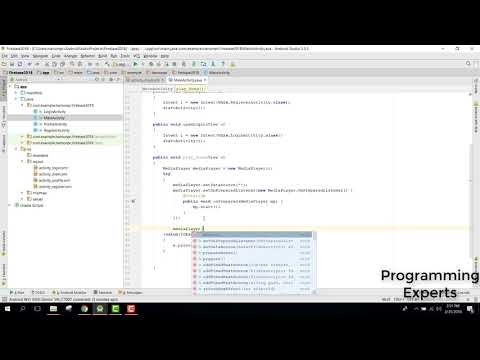 Play Audio Song firebase Storage in Android Studio Tutorial