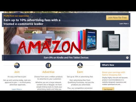 How Become an Amazon Affiliate and  ADD codes to your website/blog