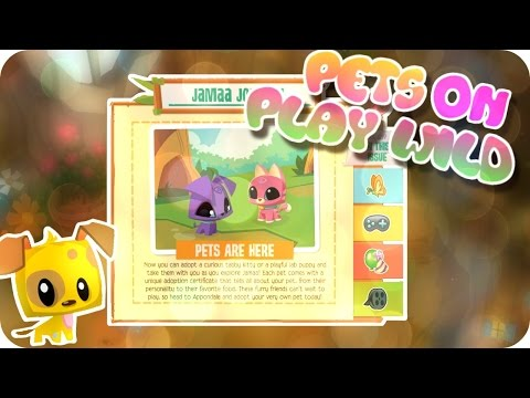 ANIMAL JAM PLAY WILD UPDATE: PETS ARE HERE