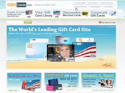 Activating Your Gift Card