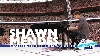 shawn mendes castle on the hill treat you better live at capitals summertime ball 2017