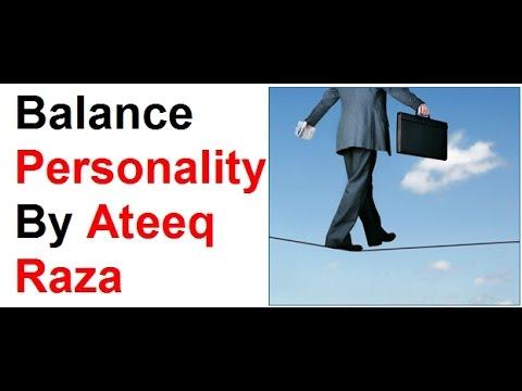 Balance Personality I   YouTube