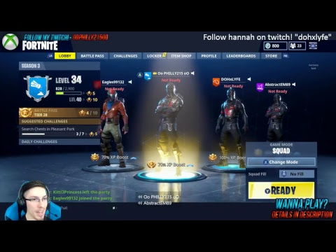 (227 Wins) Playing Fornite With Top Donators/Come Chill With TeamPhilly!