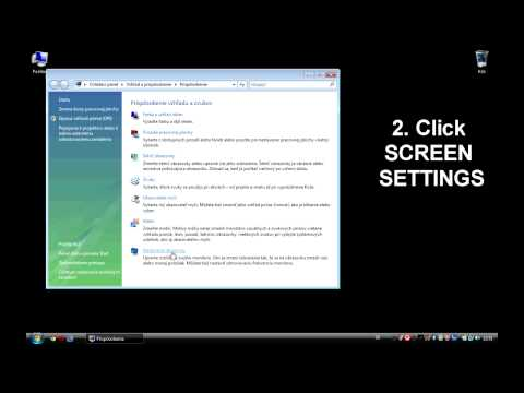 How to change screen resolution in Safe mode (Vista)