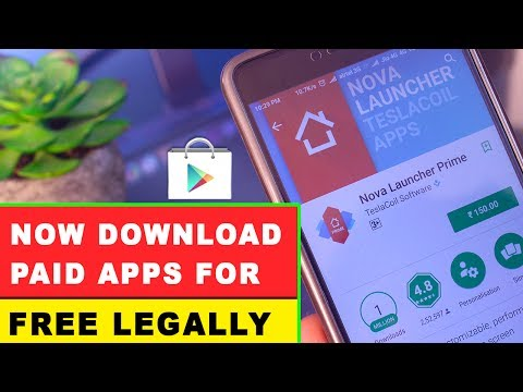 Download Paid Apps For Free Legally From Google Playstore