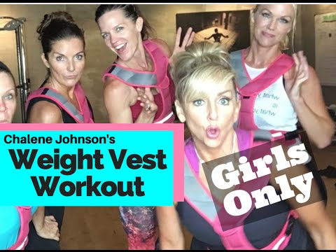 Weighted Vest Workout with CHALENE JOHNSON