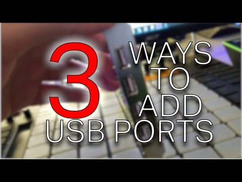 3 cool ways to add USB Ports to your computer for your gear