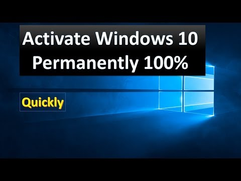 How to: Activate windows 10 Home/Pro/Enterprise permanently (Step by Step)