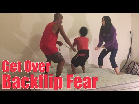 Tutorial: How To Overcome Your Fear Of Doing A Backflip