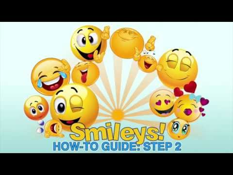 Smileys! App How-To: Step 2