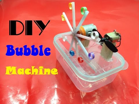 How to Make a Bubble Machine Simply at Home