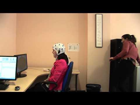 Putting on the EEG Cap
