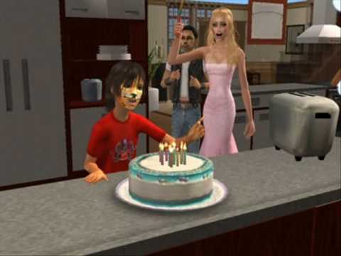 The Sims 2 The Family Cake