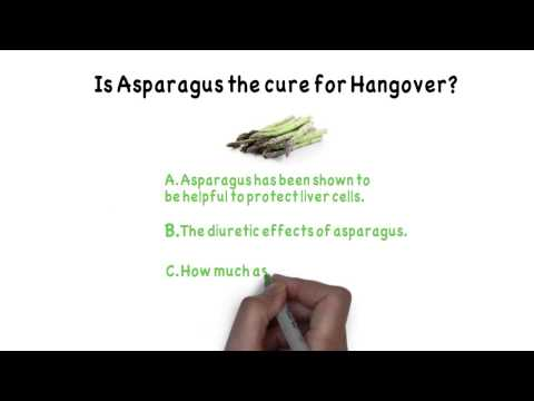Can Asparagus Cure Hangovers?