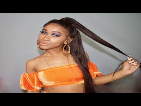 Hair: The BEST 28 Inch Straight Hair!! Unice AliExpress  Nae and Nea