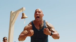 "The Rock is ready to save lives in ""Baywatch"""