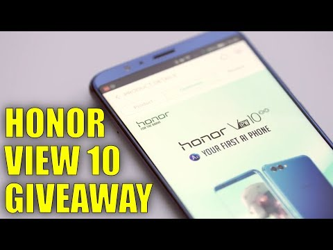 Honor View 10 International Giveaway with TK Bay and Honor UK!