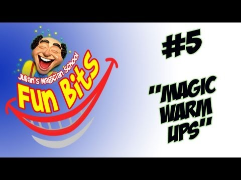Magic Warm Up Jokes - Easy Physical Comedy To Get Your Magic Audience Smiling