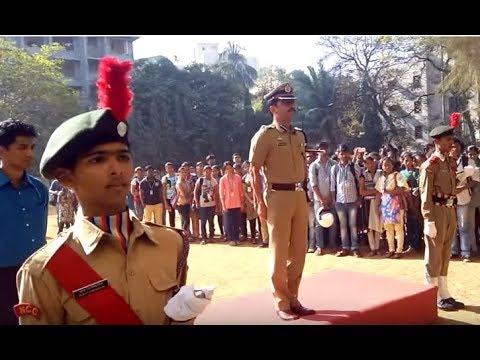 Sathaye College NCC IPS Vishwas Nagare Patil