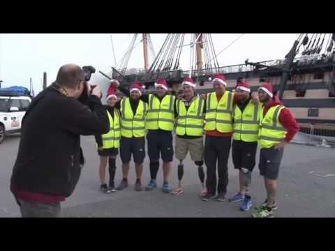'Walking Home for Christmas' For Homeless Vets