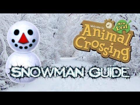 Animal Crossing: New Leaf | Snowman Guide