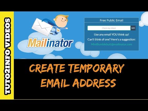 How to Create Temporary Email Address for Account Verification   Free email Generator   Quickly