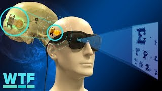 This machine creates artificial vision for the blind